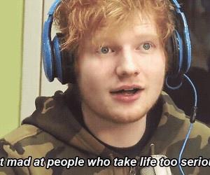 ed sheeran and life image