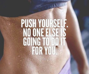 fitness, gym, and yourself image