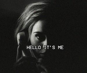 Adele, music, and hello image