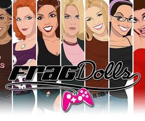 frag dolls, frag doll, and frag dolls team image