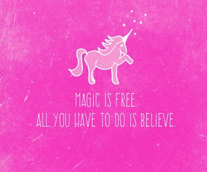 believe, inspire, and magic image