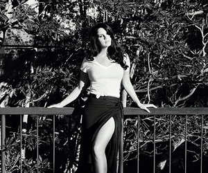 lana del rey, billboard, and black and white image