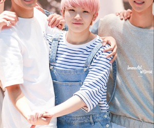 Seventeen, woozi, and DK image