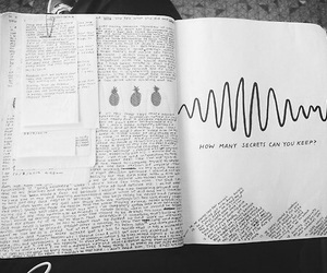arctic monkeys, book, and grunge image