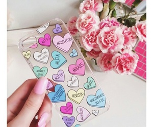 iphone, heart, and case image