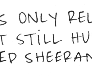 ed sheeran and song image