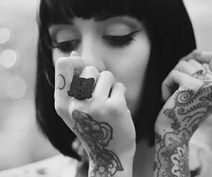 tattoo, hannah snowdon, and hannah pixie snowdon image
