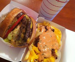 eat, fast food, and food image