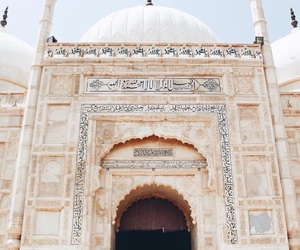 islam, mosque, and pakistan image