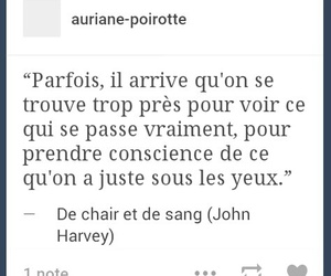 Citations, french, and tumblr image
