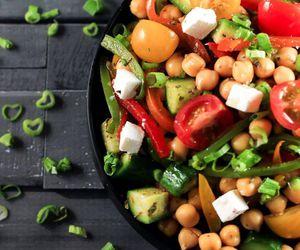 food, vegetables, and vegetarian image