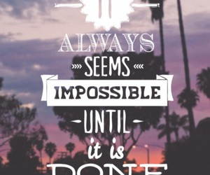 quote and impossible image