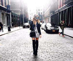 blonde, fashion, and fashionista image