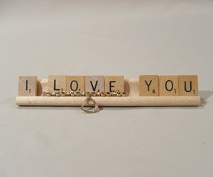 etsy, birthday gift, and scrabble tiles image