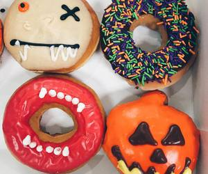 donuts, food, and Halloween image