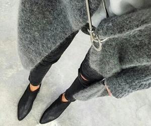 grey, fashion, and style image