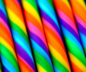 wallpaper, rainbow, and candy image