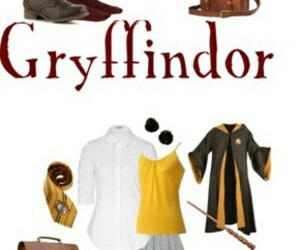 gryffindor, slytherin, and uniform image