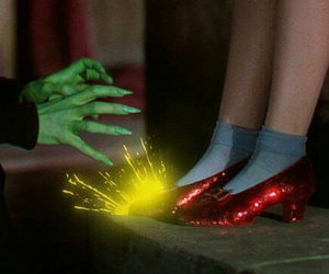 dorothy, magic, and shoes image