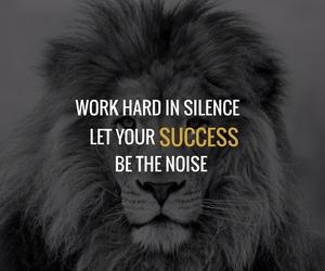 motivation, success, and work hard image