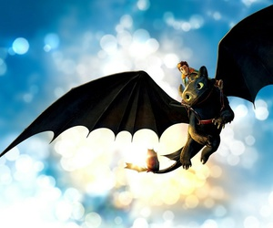 dragon, how to train your dragon, and toothless image