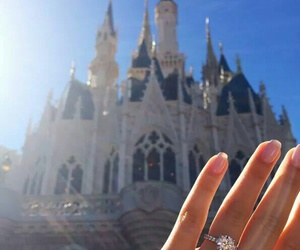 ring, disney, and love image