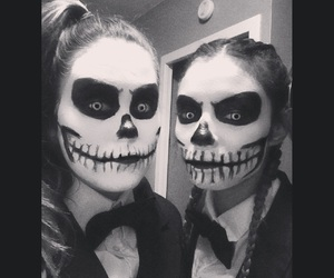 Halloween, makeup, and ​bestfriend image