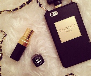 chanel, iphone, and lipstick image