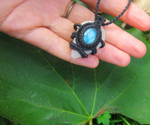 etsy, wiccan, and gypsy necklace image