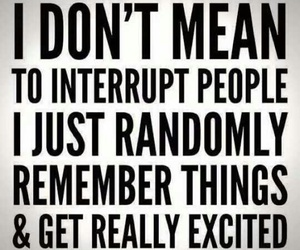 excited and interrupt image
