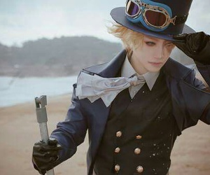 one piece, cosplay, and anime image