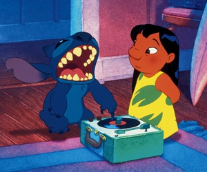 stitch, disney, and lilo image