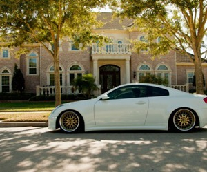cars, g35, and house image