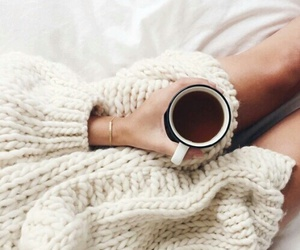 coffee, sweater, and cozy image