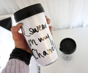 chanel, drink, and coffee image