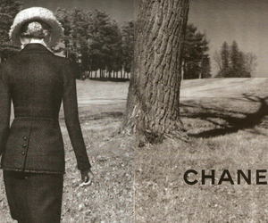 chanel, girl, and suit image