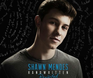 shawn mendes and handwritten image