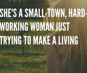 country, quote, and small town image