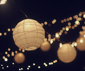 light, night, and lantern image