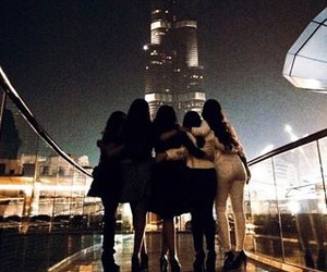 friends, Dubai, and travel image