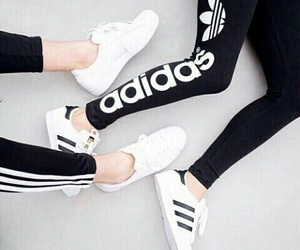 adidas, clothes, and girls image