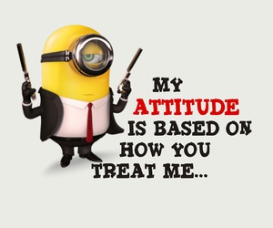 minions, attitude, and funny image