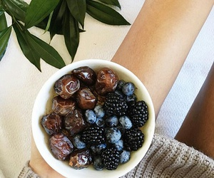 berries, dates, and vegan image