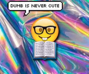 book, bubble, and dumb image