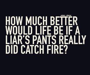 fire, liar, and pants image