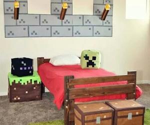 room and minecraft image