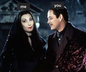 addams family, fall, and Relationship image