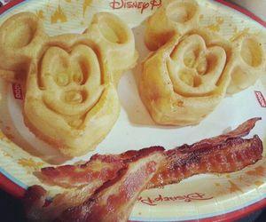 disney, food, and mickey image