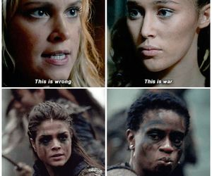 clarke, lexa, and octavia image