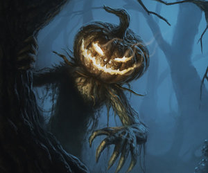 forest, Halloween, and monster image